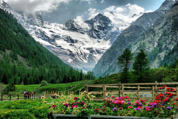Paesaggio Parco Nazionale Gran Paradiso