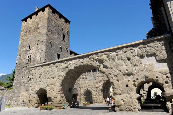 Aosta Porta Praetoria