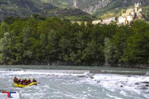 Rafting sulla Dora Baltea con Rafting Republic